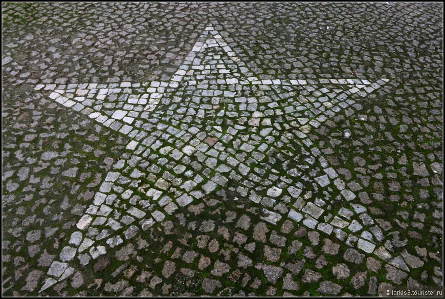 Итак, веди нас путеводная звезда ( как всегда в Португалии обозначения на дороге) :-)