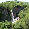 Медовые водопады летом