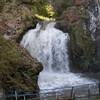 Медовые водопады осенью