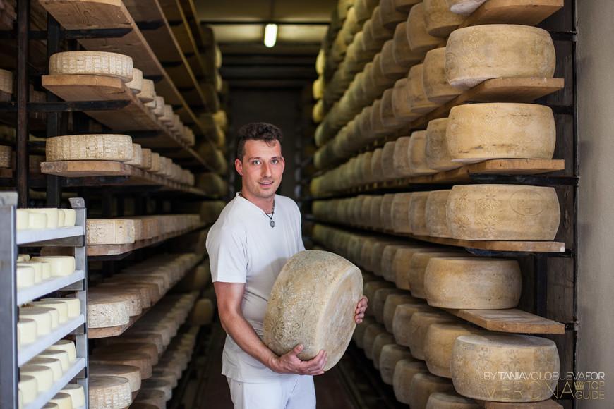 Созревают так безмятежно головки местного сыра,.... нечему завидовать Пармезану:-)