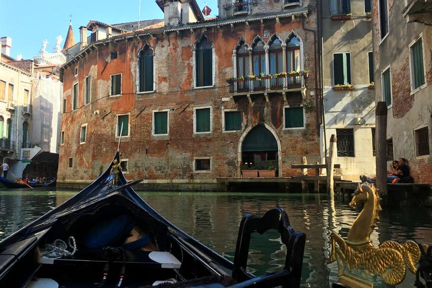 Венеция, прогулка на гондоле
