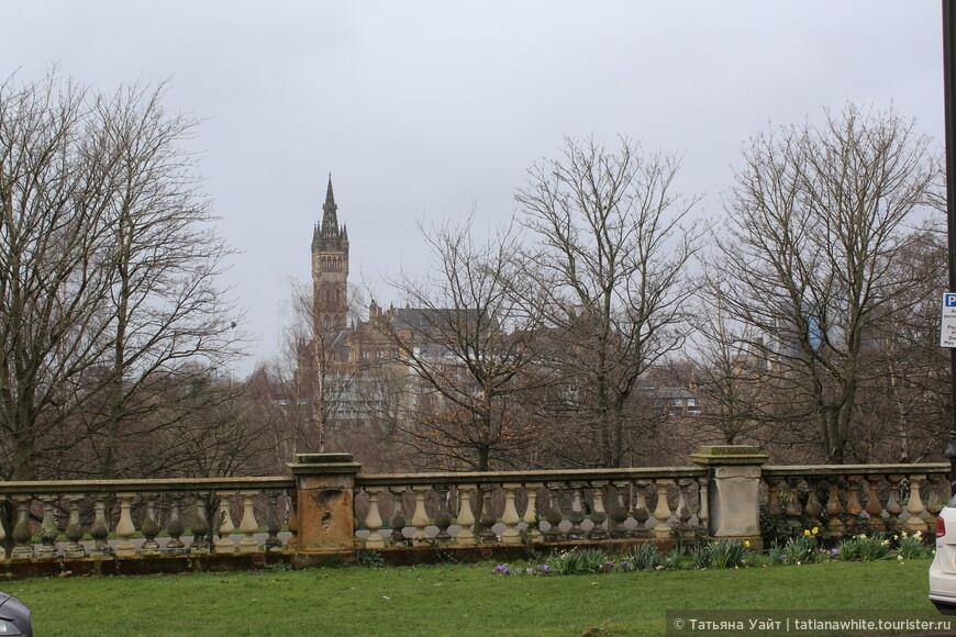 Панорамный вид на университет.