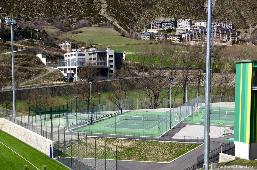 Корты для тенниса