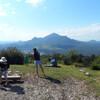 вид на гору Бештау с вершины горы Машук