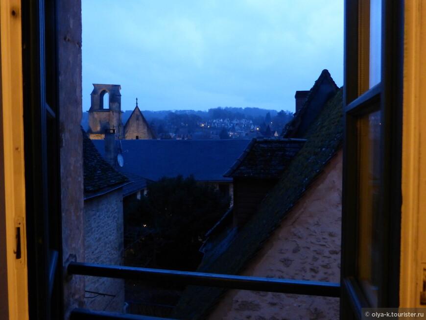 Вечерний город. Вид из окна