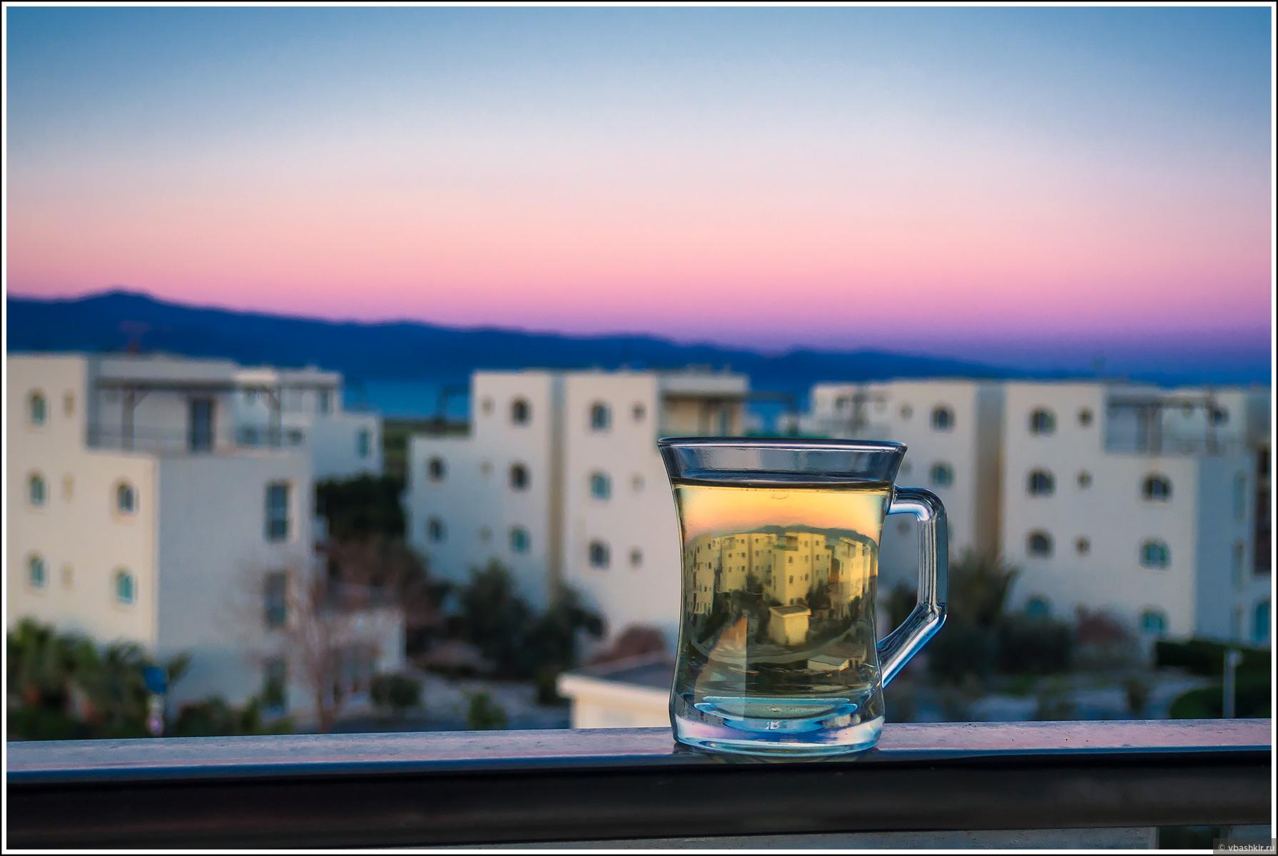 Чай перед рассветом., Весенний Кипр