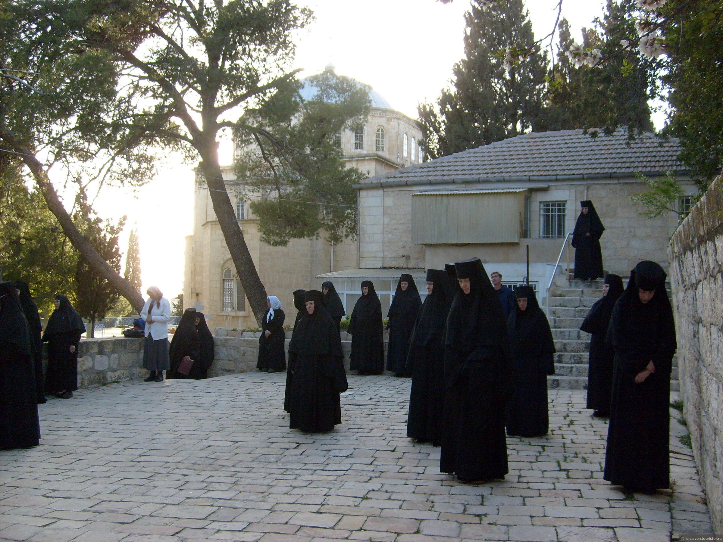 Русский Спасо-Вознесенский женский монастырь на Елеоне в Иерусалиме. Моя жизнь среди монашествующих (1-я часть)
