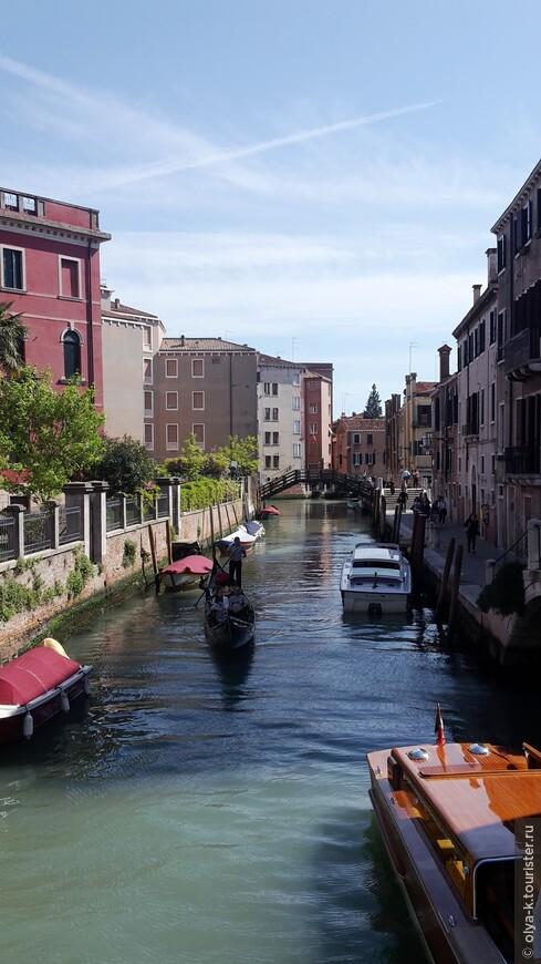Венецианские улицы-набережные