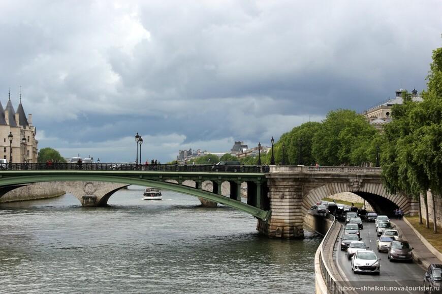 Сена. Париж 01.05.2014