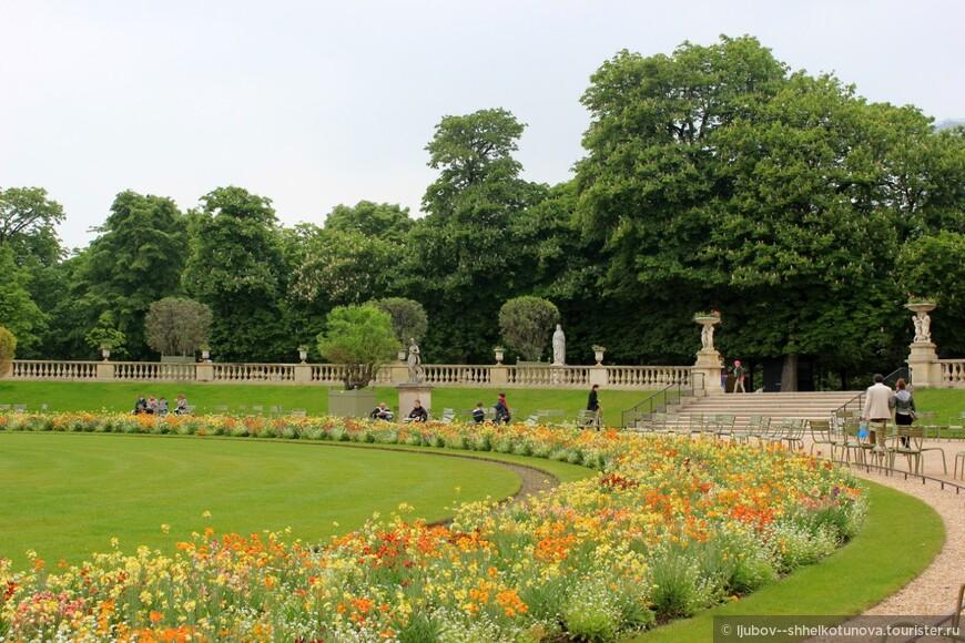 Люксембургский сад (Jardin du Luxembourg) .