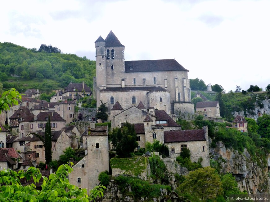 Церковь Saint-Cirq-et-Sainte-Juliette