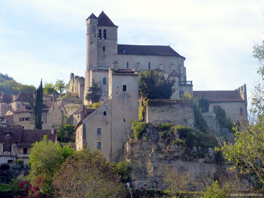 Церковь Saint-Cirq-et-Sainte-Julitte, 16 в.