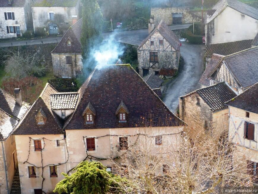 Зимний день в Сен-Сирк Ляпопи