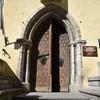 Входная дверь в дом Гильдии, ныне исторический музей