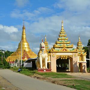 Бирманский небоскреб, храмы-дворцы и лачуги