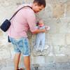 Заветный камень в стене Дубровника