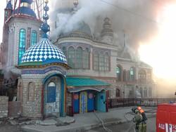 В Храме всех религий в Казани произошел пожар