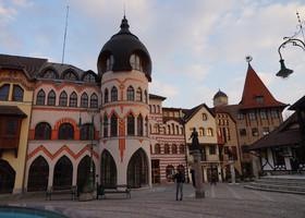На пересечении Словакии и Венгрии - Комарно