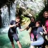 Остановка на водопадах