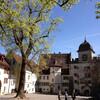 Внутренний двор. Замок Ленцбург.