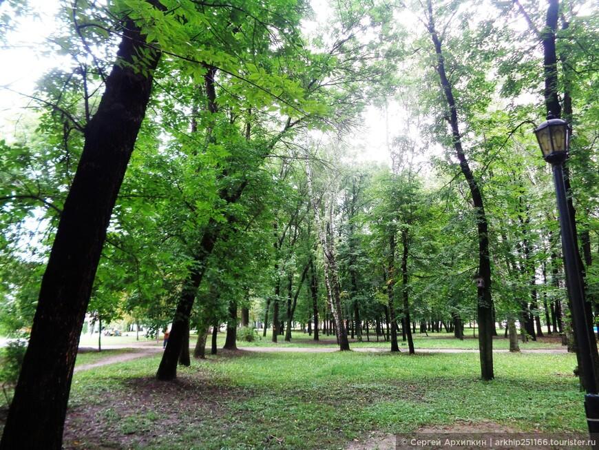 Соборный парк в Рязани