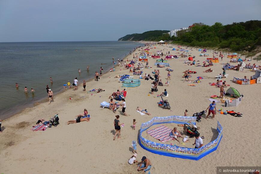 Пляжи в балтийске фото