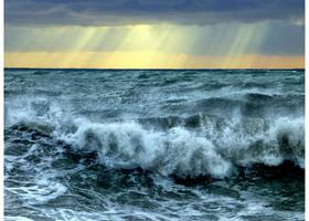 Под впечатлением от Айвазовского – Девятый вал