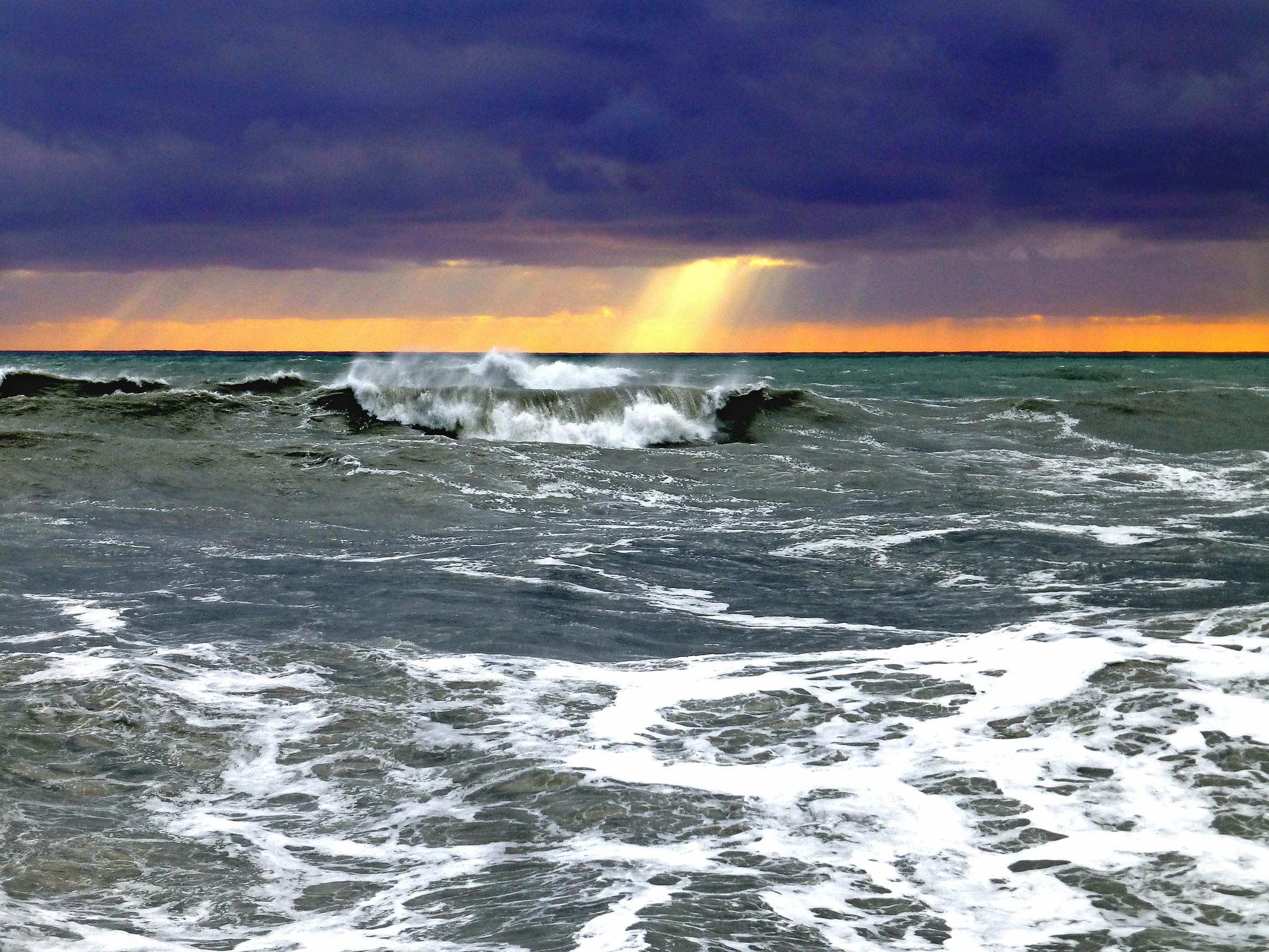 черное море шторм картинки этого