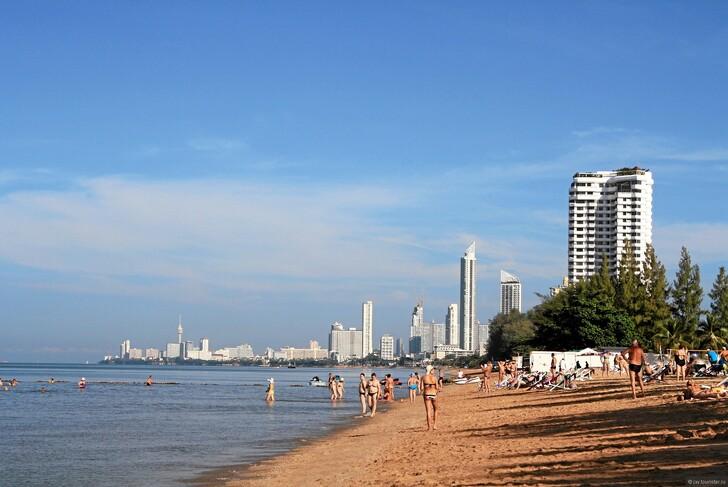 Пляж Джомтьен © Татьяна Квичанская