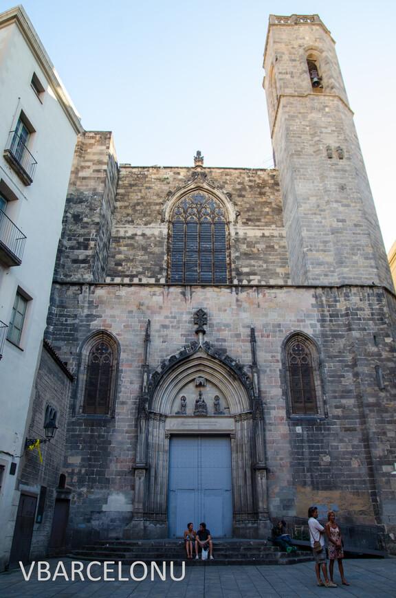 Церковь Сант-Жуст-и-Пастор