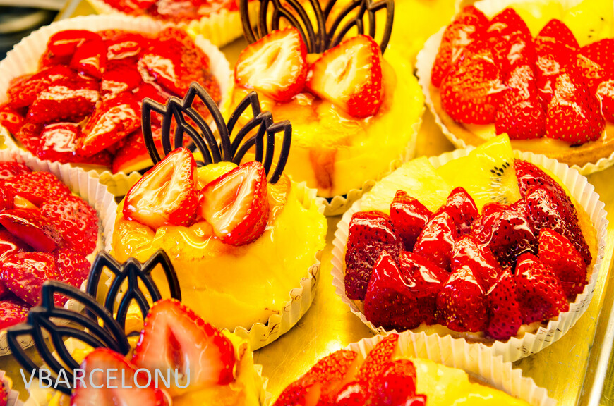 Испанские сладости в кондитерской Кольмена