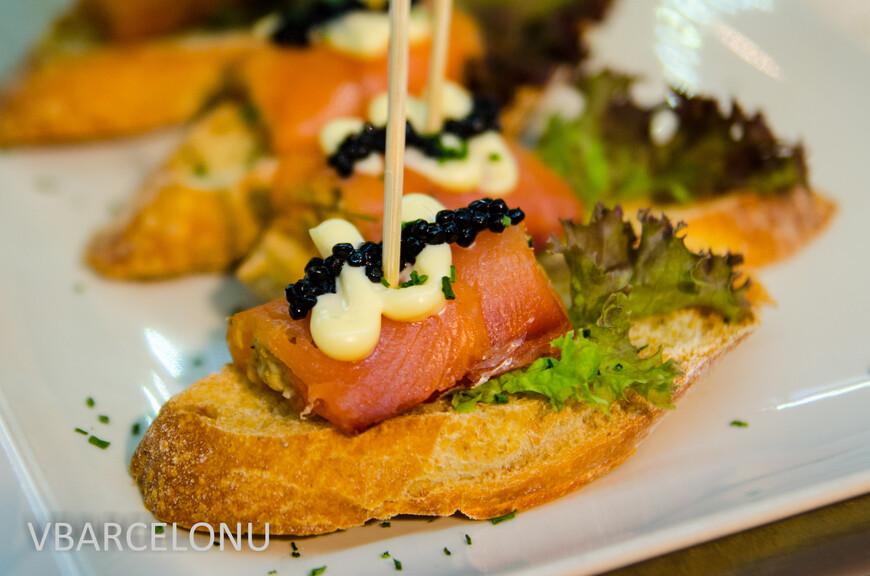 Испанские закуски tapas