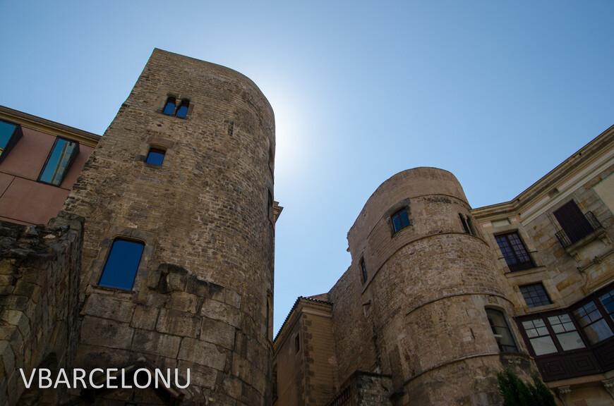 Северные ворота бывшего древнеримского поселения Барсино