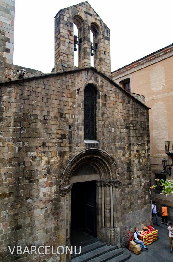 Единственная в Барселоне церковь, построенная в романском стиле