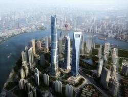 В самом высоком небоскрёбе Китая открылась смотровая площадка