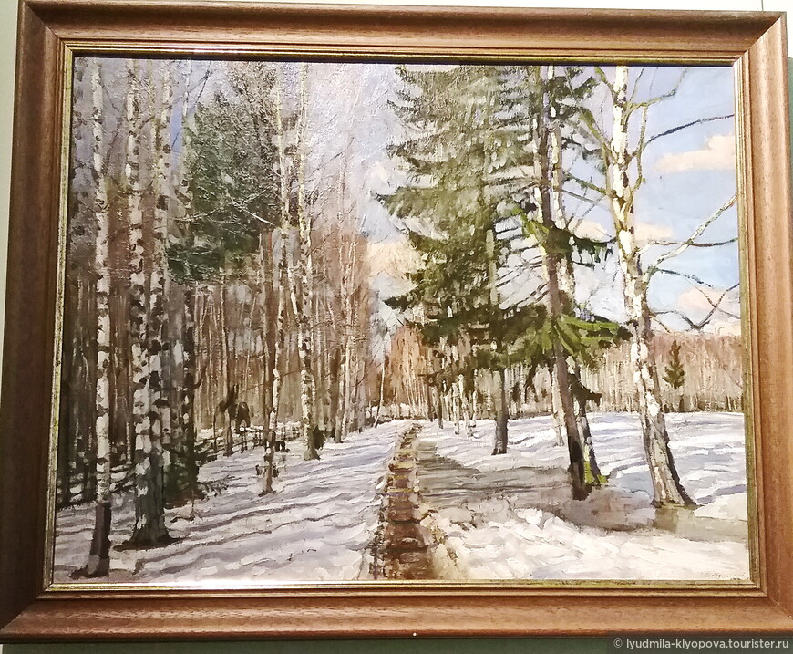 С.Ю. Жуковский. Весна