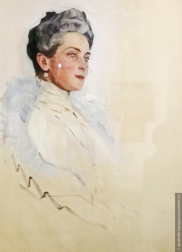 Этот прекрасный нежный портрет З.Н. Юсуповой работы В. Серова известен гораздо меньше, чем тот, что хранится в Русском музее.