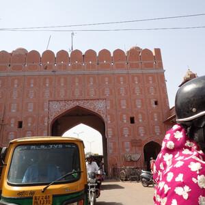 Джайпур - чистый город. Часть1. Дворец ветров