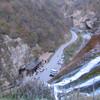 Чегемские водопады вид сверху