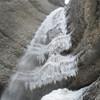 Малый Чегемский водопад зимой