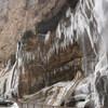 Чегемские водопады зимой