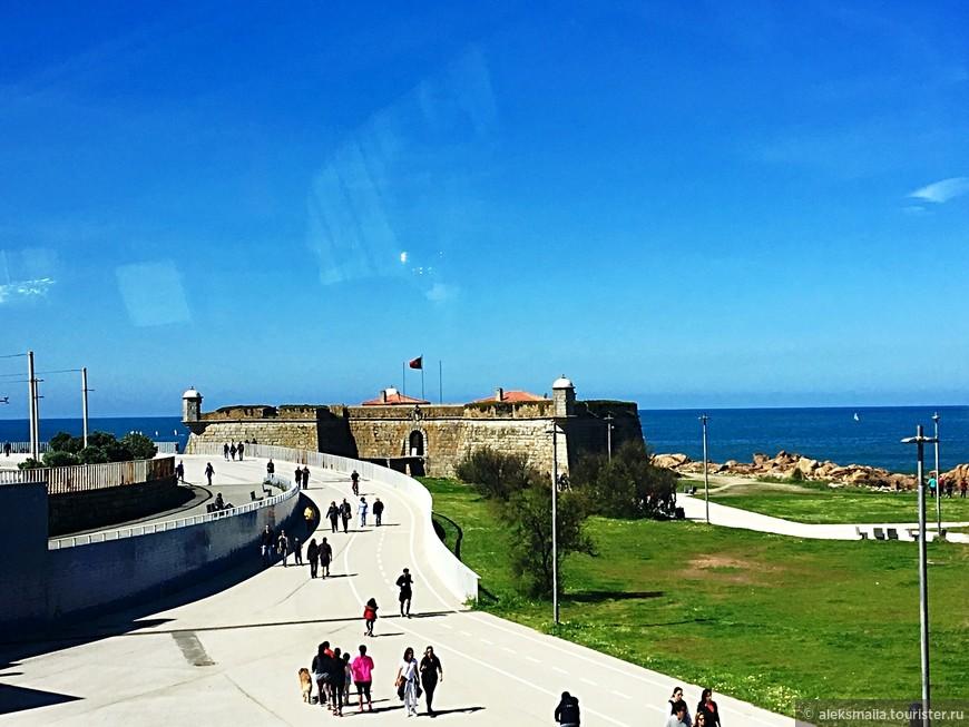 """Форт Святого Франциска Ксаверия (Сырный замок - Castelo do Queijo). Форт получил название """"Сырный форт"""", потому что был построен на вершине скалы, которая напоминает """"кусок сыра""""."""