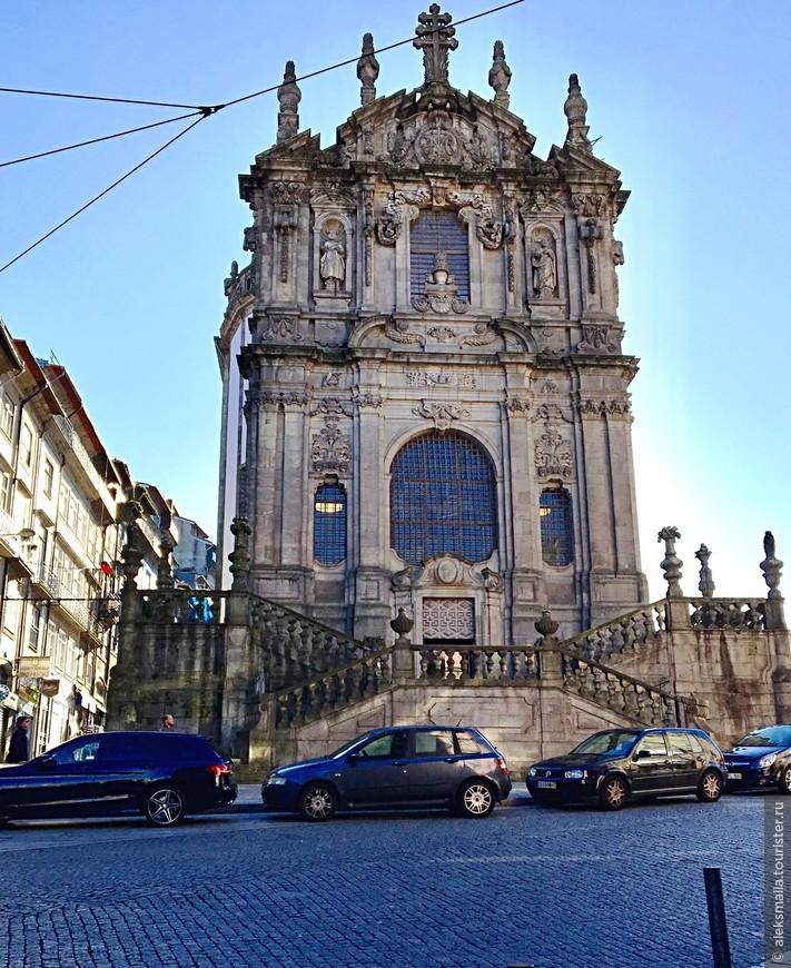 Клеригуш - католическая церковь в стиле барокко.