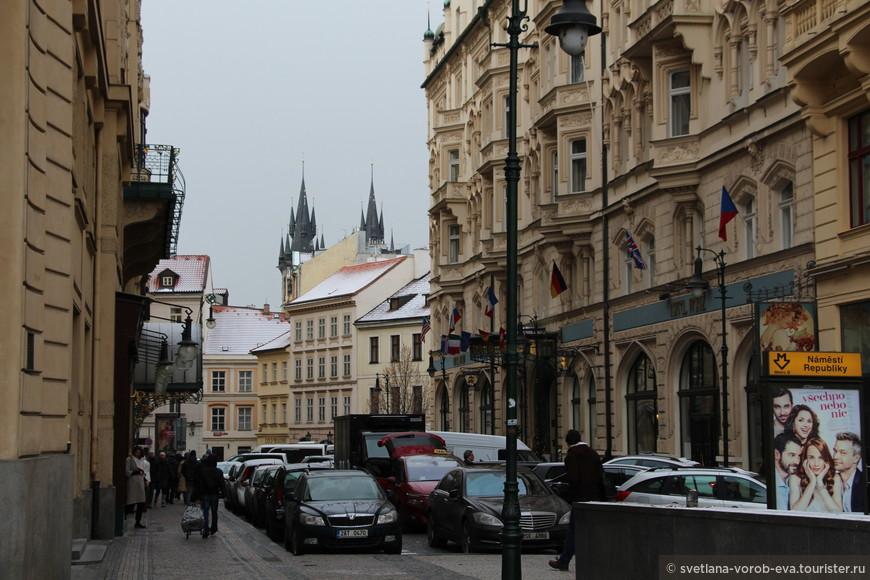 В Праге все виды и ракурсы прекрасны.