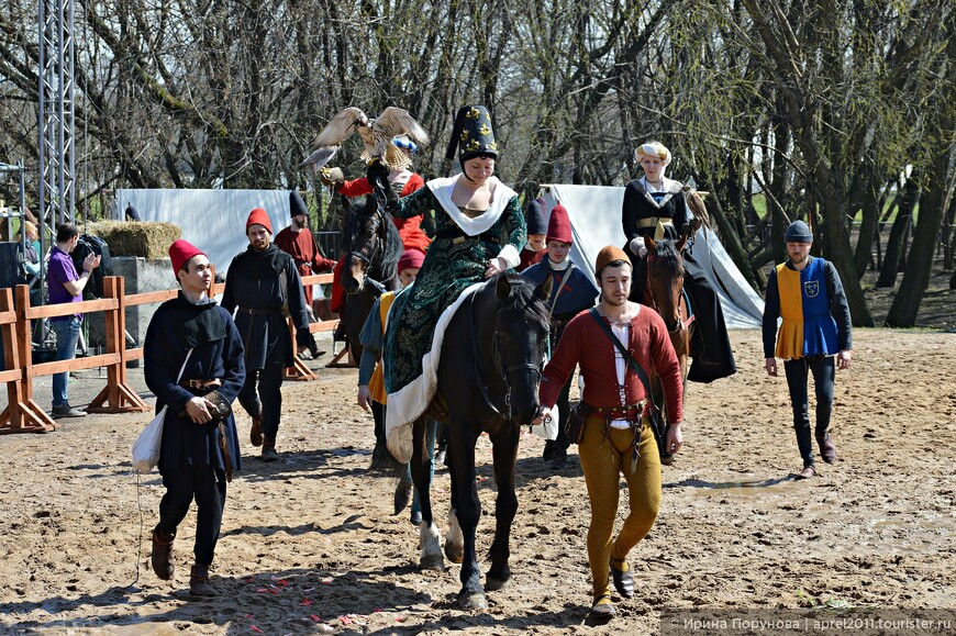 Театрализация легенды Турнира об охоте прекрасных дам в Волшебном лесу...