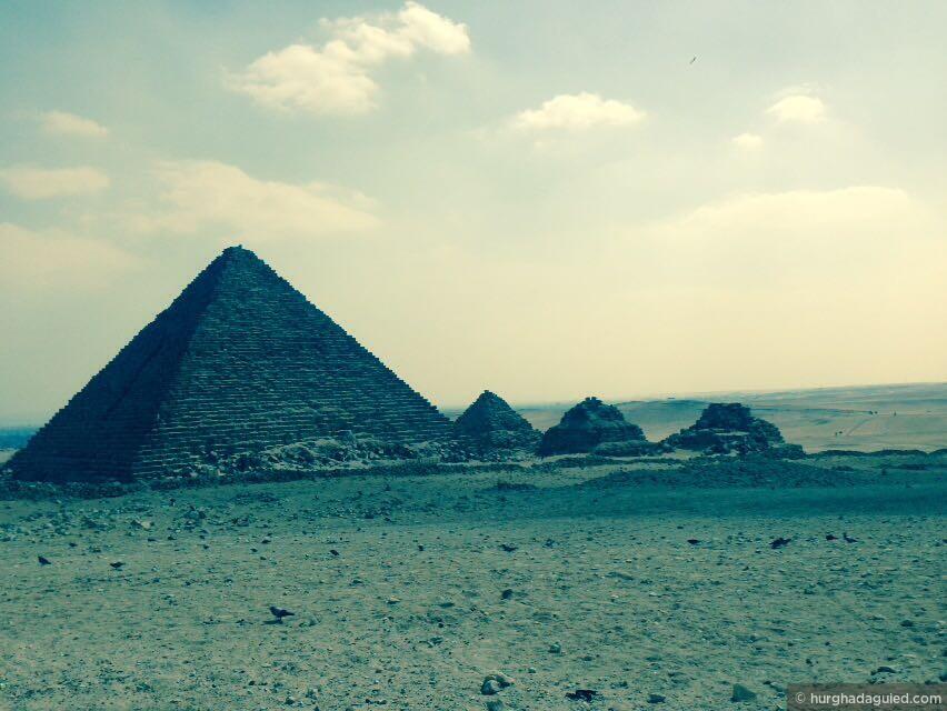 Каир, Гиза, Пирамида Микерин