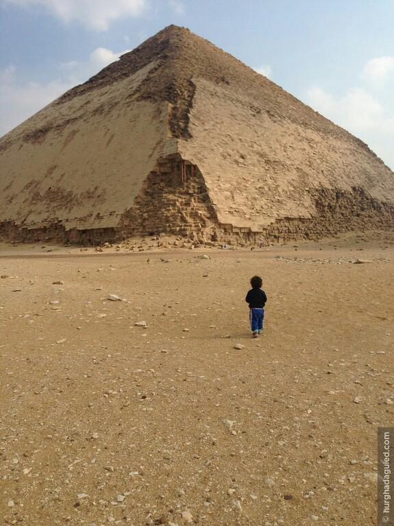 Дахшур. Ромбовидная пирамида.