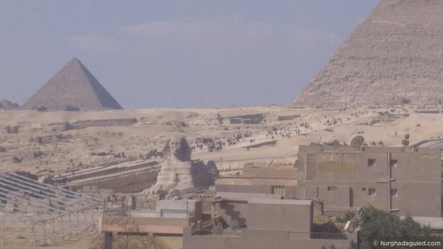 Пирамиды Гиза и Сфинкс.