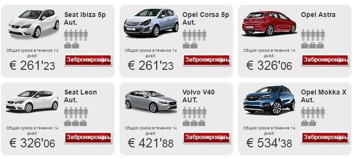 Автомобиль на Тенерифе не роскошь!