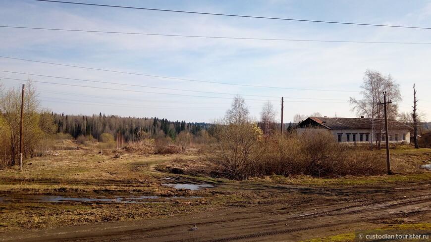 По дороге в Томск из Новосибирска